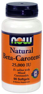 Бета Каротин 25000 / Beta Carotene Natural