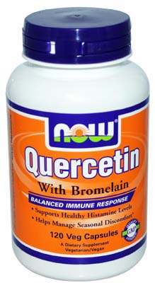 Кверцетин с Бромелаином QUERCETIN WITH BROMELAIN. Купить Кверцетин