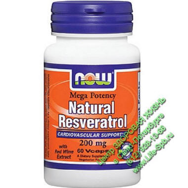 ����������� (�����������) 60 ����. (�����������) Natural Resveratrol